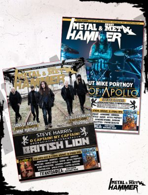 issue 421 _ Steve Harris - Sons of Apollo