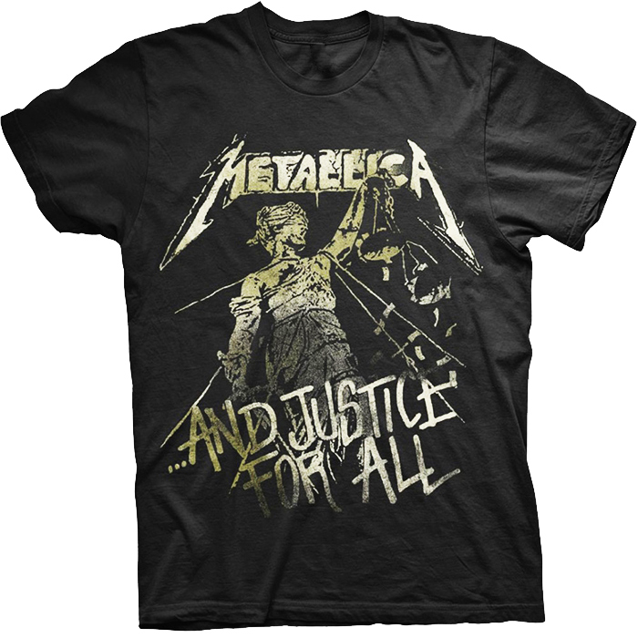 T-SHIRT METALLICA – Justice Vintage, HammerLand