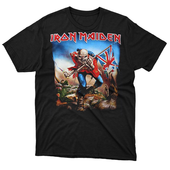 T-SHIRT IRON MAIDEN – THE TROOPER, HammerLand