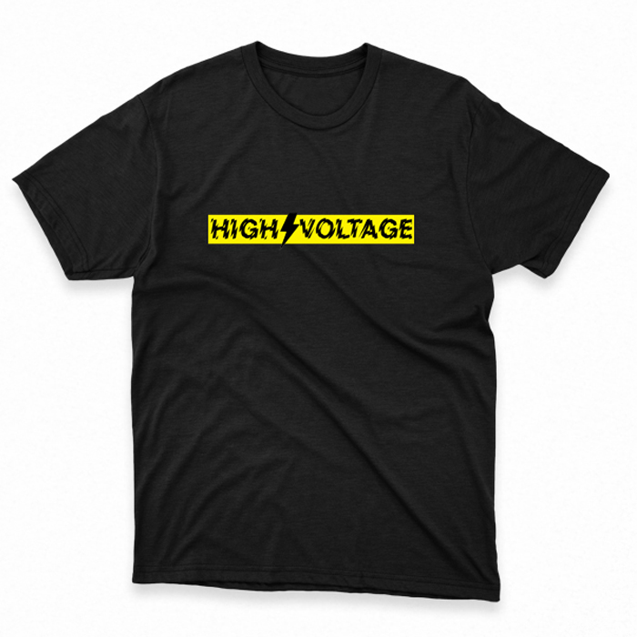 T-SHIRT HIGH VOLTAGE, HammerLand