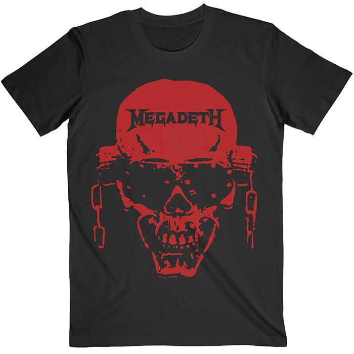 T-SHIRT MEGADETH VIC HI-CONTRAST RED, HammerLand