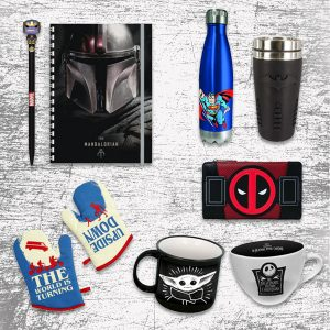 TV-Movie-Game Merch