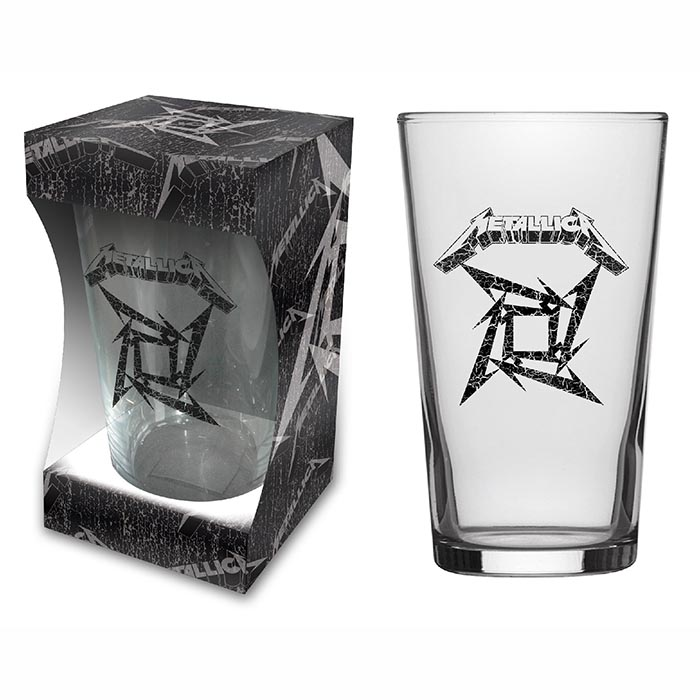 BEER GLASS METALLICA – Black Album, HammerLand