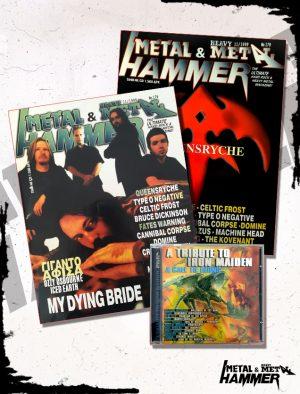 METAL HAMMER MAGAZINE ISSUE 179 +CD, HammerLand